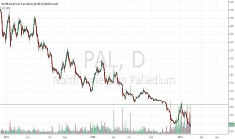 PAL: North American Palladium Ltd   (PAL)