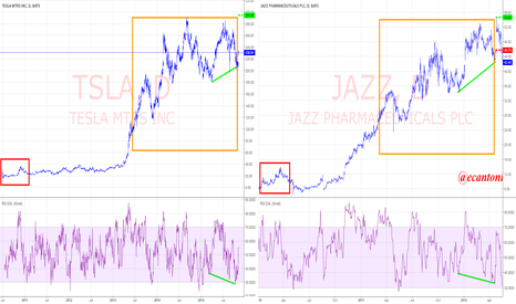 TSLA: TSLA goin berserk tracking JAZZs 2012 fractal