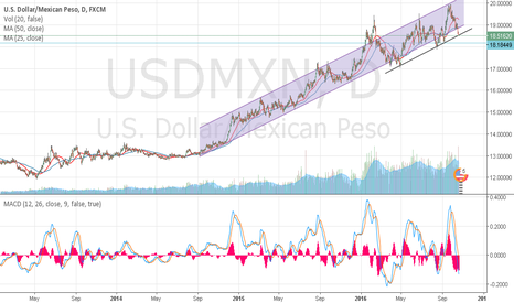 USDMXN: USD/MXN before the Hillary-Trump debate
