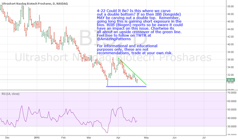 BIS: BIS- Inverse Off IBB Could It be? A Double Bottom In The Making?