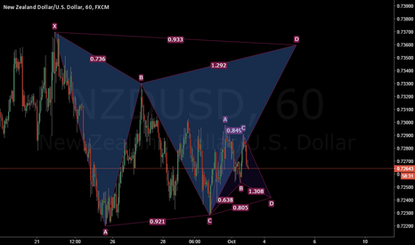 NZDUSD: NZDUSD Bullish and Bearish Gartleys