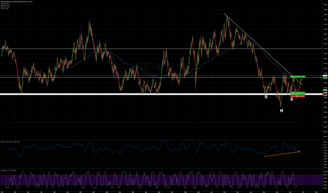 AUDNZD: AUD/NZD - Rejected long-term support Area w/ Head & Shoulders