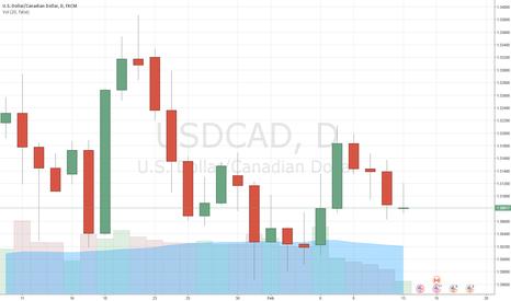 USDCAD: USDCAD: short at 1.3130
