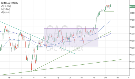CAC: CAC 40 consolidates following December break