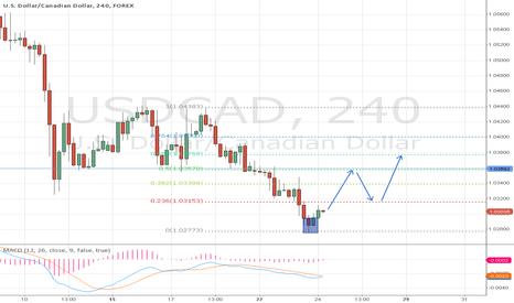 USDCAD: USD/CAD reversal
