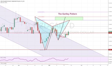 NZDCAD: The Gartley Pattern