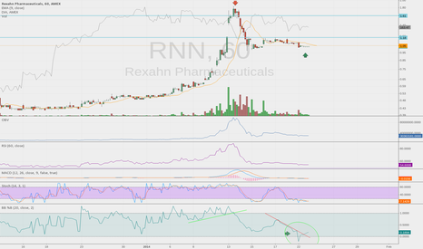 "RNN: Bounce ""should"" occur right about now.... %B breach approach"