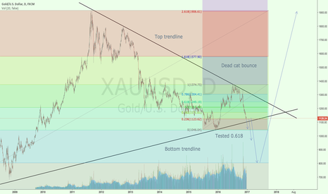 XAUUSD: Gold is going down!
