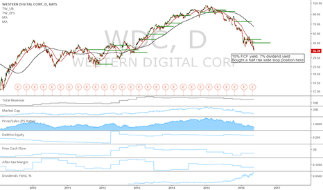 WDC: WDC: Potential long term long at old support level
