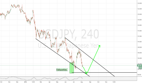 USDJPY: End of the game.