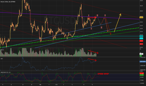 BTCUSD: Bearish divergence at key resistance level