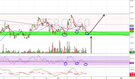TSRO: Potential Triple Bottom?