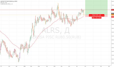 ALRS: Хорошая цена по Алросе