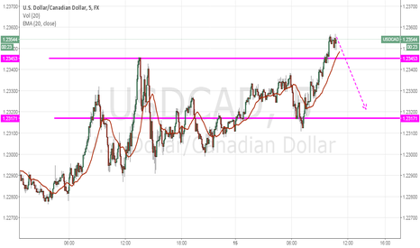 USDCAD: U.S Dollar/Canadian Dollar