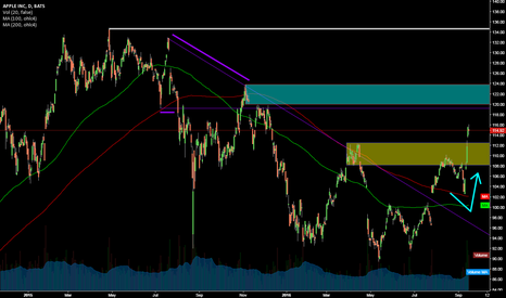 AAPL: APPLE @ basic Scenario since ATH (freestyle)