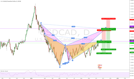 USDCAD: USDCAD some Possible Patterns on the Daily