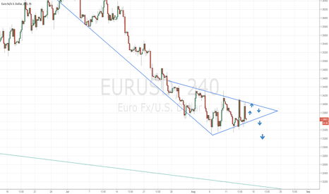 EURUSD: SHORT SET-UP ON THE EURO