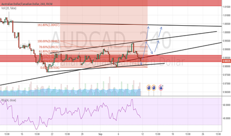 AUDCAD: AUD/CAD will go up?