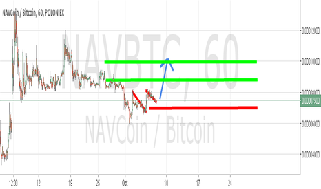 NAVBTC: NAV bull flags screaming
