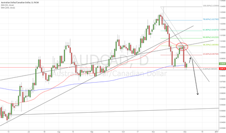 AUDCAD: AUDCAD long term short position