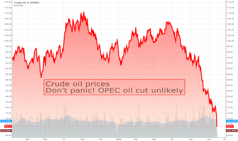 CL1!: Don't panic! OPEC oil cut unlikely