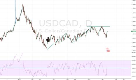 USDCAD: USDCAD Bearish AB=CD w/ RSI
