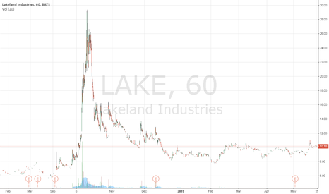 LAKE: Lakeland Industries Inc. (LAKE) was a big mover last session -