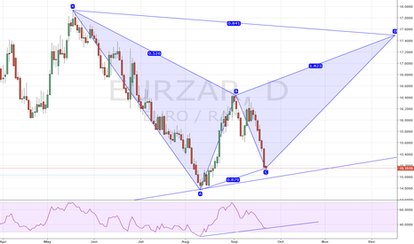 EURZAR: EURZAR support bounce