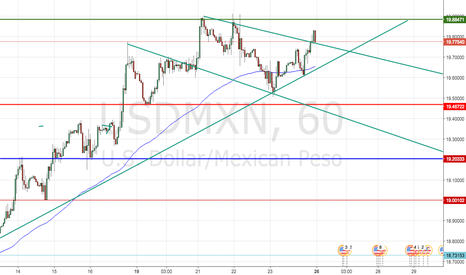USDMXN: USDMXN will keep rising