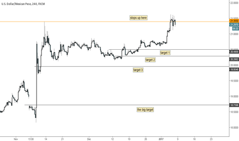 USDMXN: Another random chart I've never looked at