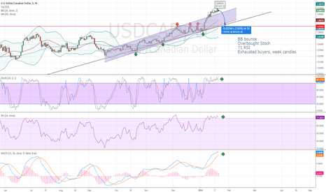 USDCAD: Next week's weak prediction for USDCAD
