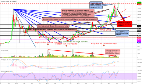 """BTCUSD: BTC WEEKLY CHART: """"The Panic Zone"""" What the hell?"""