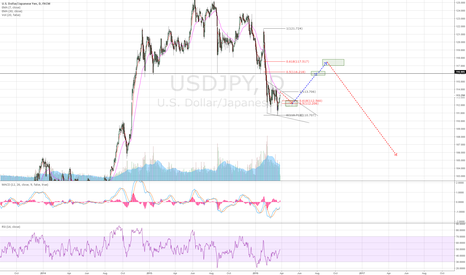 USDJPY: U/J roadmap. Correction required