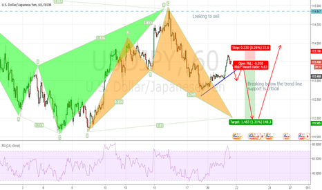 USDJPY: USDJPY : The down before the up