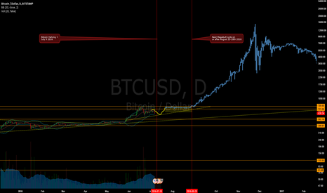BTCUSD: The Bitcoin Megabull Cycle - Still Alive, Come back in September