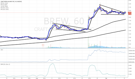 BREW: $BREW chart of interest