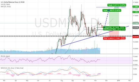 USDMXN: Mexican Peso