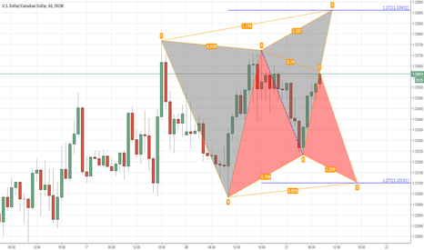 USDCAD: USDCAD. BEAR BUTTERFLY OR BULL GARTLEY