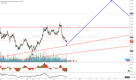 NZDCAD: NZDCAD waiting on a a trigger to go long