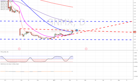 SNMX: I believe SNMX is Neutral for a few weeks then it will POP!