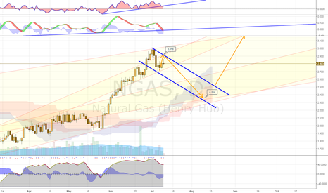 NGAS: Natural Gas Pullback then Long