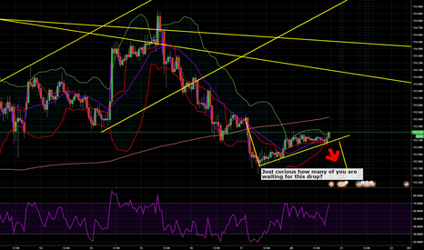 USDJPY: Just curious how many of you in USDJPY.....