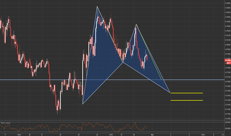 NZDUSD: NZDUSD / 1HR / POTENTIAL BAT PATTERN