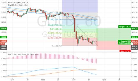 GOLD: Gold Fibonacci 0.5 Target 1198