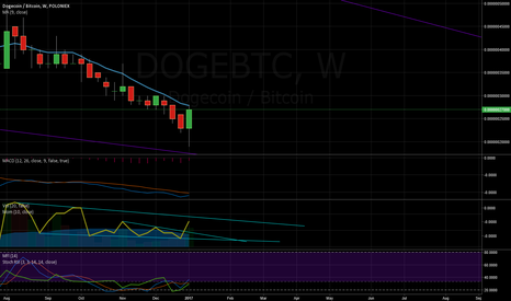 DOGEBTC: dogecoin has a possible outbreak