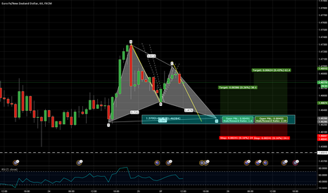 EURNZD: EURNZD - Great longing zone (Gartley + more)