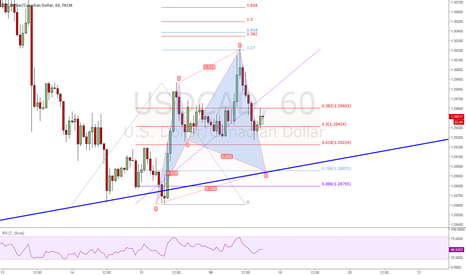USDCAD: 1H Cypher