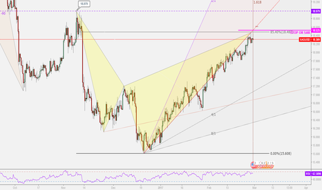 XAGUSD: Silver Bearish Shark