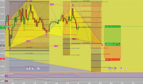 AUDUSD: AUDUSD Gartley long
