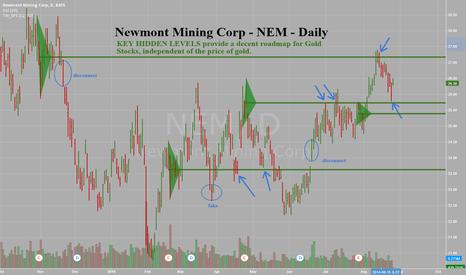 NEM: Newmont Mining Corp NEM -Daily -Key Hidden Level Support Held
